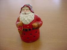 Handmade Ceramic Santa Claus Light Cover or Statue