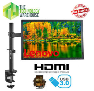 """22"""" HD Gaming Monitor - LED Backlit with fully adjustable Arm & HDMI Port"""