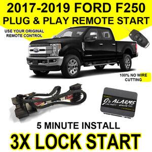 2017-2019 Ford F-250 Remote Start Plug & Play Easy Install F250 Super Duty FO2