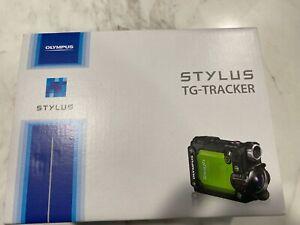Olympus Stylus Tough TG-Tracker Action Camera (Green)