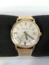 Vintage Mathey-Tissot 10K Gold Filled Swiss-Made Automatic Men's Watch-Working!