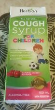 Herbion All Natural Cough Syrup For Children 150ml Cherry Flavored