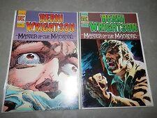 Berni Wrightson Master of the Macabre 1 2 1983 Comic Run Lot Set Eerie CReepy
