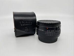 Vivitar MC 2X-22 Tele Converter (Telekonverter) - Pentax K (#1580105897)