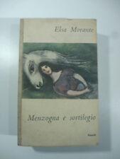 Elsa Morante, Menzogna e sortilegio, Einaudi, 1948, prima edizione