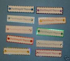 20 3D Welsh Birthday Toppers with Gems(self adhesive) Card Embellishments