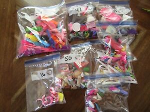 300-ASSORTED LOT BARBIE SHOES-BRUSHES-ACCESSORIES-1990s