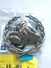 HOLDEN WH STATESMAN FRONT CHROME BONNET BADGE NOS !! CAN ALSO FIT ON REAR NEW GM