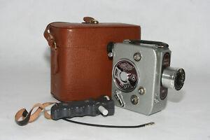 Christen Reflax DB-1  8mm Filmkamera mit Som Berthiot Servocinor 1:1,8/12,5mm