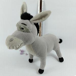 Donkey Plush Vintage 2001, 30cm Tall, Shrek Stuffed Dreamworks Toy