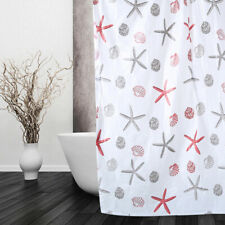 1.5M Waterproof PEVA Mildew Resistant Bathroom Shower Curtain Divider Drape