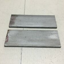 14x2 304 Stainless Steel Flat Bar End Drop Scrap 2 Short Pieces