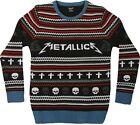 Metallica - Mens Mop Ugly Xmas Sweater Christmas Jumper - Medium