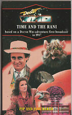 Rare: Doctor Who - Time and the Rani. Virgin blue spine, VGC Target Books.