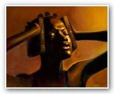 AFRICAN AMERICAN ART Hear No Evil Female Sterling Brown