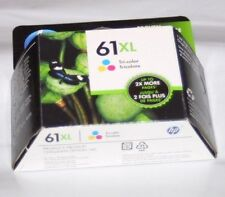 Genuine HP 61XL Tri Color Ink Cartridge Sealed Box CH564WN Exp 6/2019