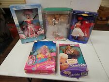 Barbie Lot of 5 Blossom Beauty Silken Flame Teen Talk The Flamingo Happy Holiday