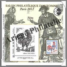 PARIS - 2012 - Salon Philatélique de PARIS (CNEP N°62)