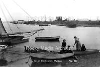 Rkm-11 Boating Scene, River Blackwater, Maldon, Essex. Photo