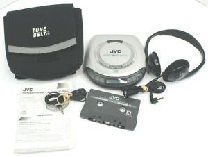 Vintage JVC XL-PV400 Hyper Bass Portable CD Player + Accessories See Description