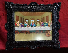 Jesus Christus zwölf Aposteln 12 Apostel das letzte Abendmahl Jesu 45x38 Schwarz
