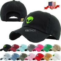 Alien Dad Hat Baseball Cap Unconstructed
