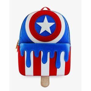 NWT Danielle Nicole Marvel Captain America Ice Cream Mini Backpack