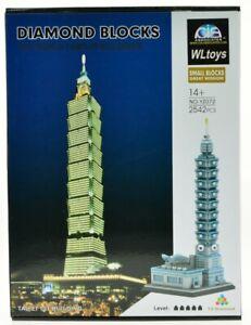 Taipei 101 World Financial Center Micro Mini Diamond Block Model Building Set