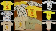 Lot Of 6 EcoBaby Cotton 3 Long Sleeve 3 Short Sleeve One Piece 3-6 Months