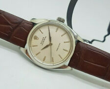 RARE VINTAGE ROLEX OYSTER ROYAL PRECISION 6426 SILVER DIAL MAN'S WATCH