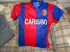 Bfc Carisbo red/blue youth soccer jersey Andersson #19 sz Xl-Y