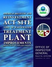 American Recovery and Reinvestment Act Site Visit of Wastewater Treatment...