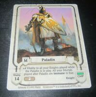 Guardians Paladin trading card game tcg/ccg Rare 2 1995
