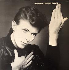 """DAVID BOWIE - """"Heroes"""" (LP) (F++/VG-)"""