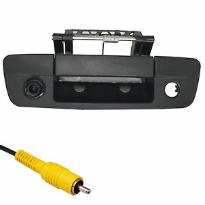 For Dodge Ram (2009-2017) Black Tailgate Handle Backup Camera