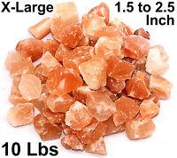 Himalayan Pink Salt Chunks 10 Lb Bulk 100% Authentic Pure Natural Rock Stone