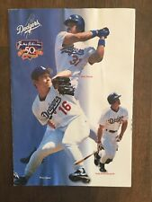 1996-1997 Dodgers 50th Anniversary Season Ticket Pamphlet