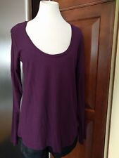 NWT JAMES PERSE Long Sleeve Crew Neck Tee Top Shirt HEATHER CH Sz 3 $115