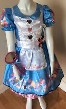 Disney Alice in Wonderland Costume & Headband Book Day age 7/8 years