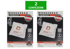 ROWENTA WB305120 Sacchetti Wonderbag Compact 10PZ per Aspirapolvere