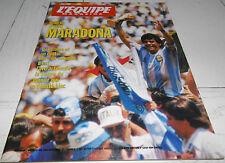 EQUIPE MAGAZINE N°643 1994 SPECIAL DIEGO MARADONA ARGENTINA PIBE DE ORO FOOTBALL