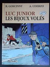 Luc Junior Les Bijoux Volés Uderzo Goscinny TRES BON ETAT