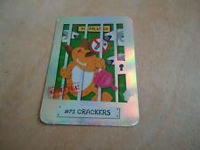 72 CRACKERS  YOYO BEAR CARD BEAR SPY ADVENTURE SHINY CARD