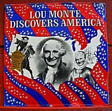 LOU MONTE  Discovers America / ORIGINAL 1976 US Lp SEALED! MINT!