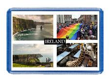 Ireland Fridge Magnet - Large Size (7cm x 4.5cm) - Great Gift Idea - Tourism