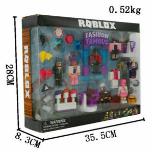 Roblox Celebrity Fashion Famous Action Figure Toys Playset New in Box Xmas Gift