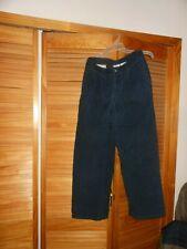 Greendog Boys Youth Navy Blue Corduroy Casual Pants Size 16