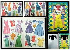 Tuesday Weld, Teenage Sweetheart of the Movies - 1961 Uncut Paper Doll Book