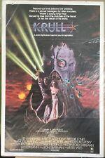 """Krull, Movie Poster, 1983, Ken Marshall, Lysette Anthony, 27"""" x 41"""