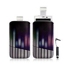 Housse coque étui pochette pour Sony Ericsson Xperia X10 avec motif + Stylet min
